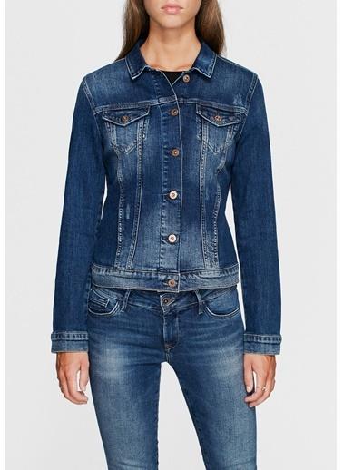 Jean Ceket | Daisy - Yarı Dar Kalıp-Mavi